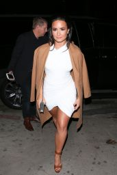 Demi Lovato is Looking All Stylish - Arrives at The Philymack Holiday Party in West Hollywood 12/14/ 2016