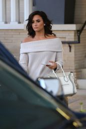 Demi Lovato - Leaving Barneys New York With a Friend in Beverly Hills 12/7/2016