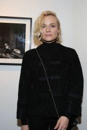 Diane Kruger - Opening of the Norman Reedus Photo Exhibitioni in Paris 12/15/ 2016