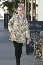 Dove Cameron - Out for Lunch in Los Angeles 12/19/ 2016