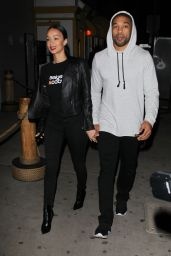 Draya Michele at Giorgio Baldi in Santa Monica 12/20/ 2016