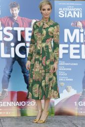 Elena Cucci - Mister Felicita Photo Call in Rome 12/28/ 2016