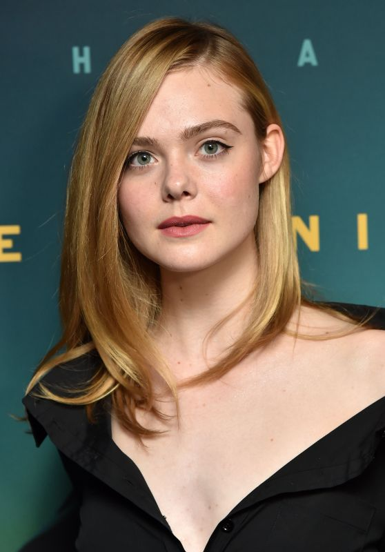 Elle Fanning Live By Night Film Screening In New York
