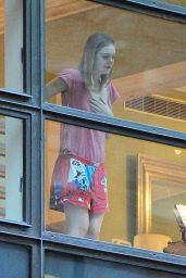 Elle Fanning - Seen Wearing