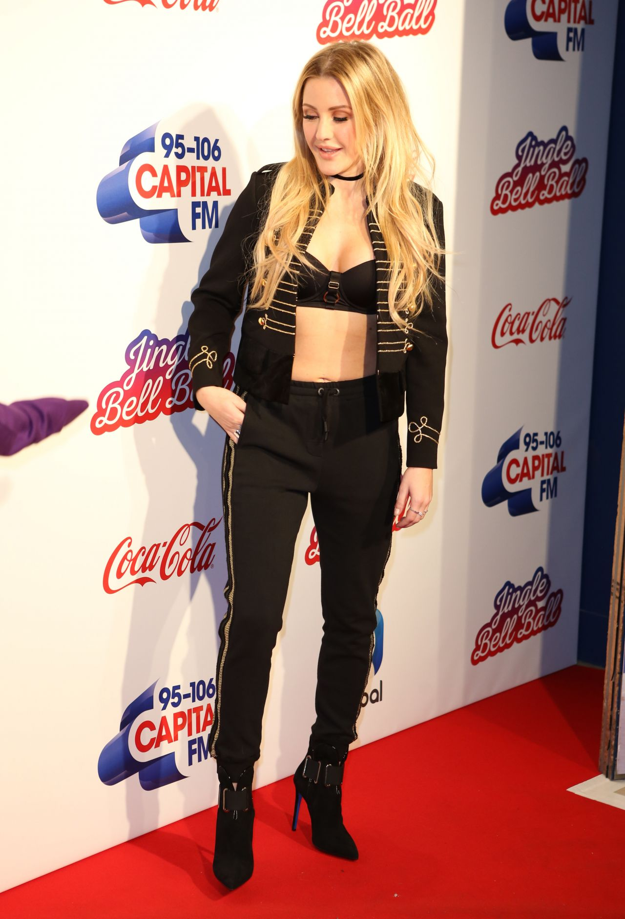 Ellie Goulding Capital S Jingle Bell Ball With Coca Cola