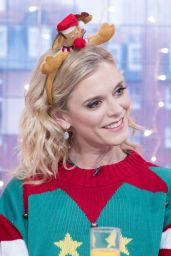 Emilia Fox - Christmas Brunch TV Show in London, UK 12/24/ 2016