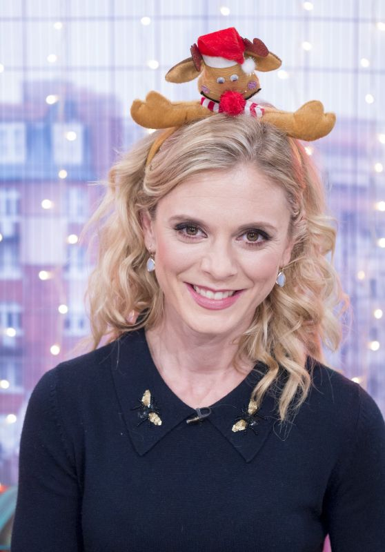 Emilia Fox - Christmas Brunch TV Show in London, UK 12/24/ 2016