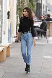 Emily Ratajkowski in Jeans - Out in LA 12/6/ 2016