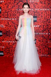 Emily Robinson - An Evening Honoring Carolina Herrera in New York City 12/06/ 2016