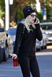 Emma Roberts - Out in Los Angeles - December 2016