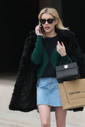 Emma Roberts - Shopping in Beverly Hills, CA 12/21/ 2016