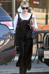 Emma Roberts - Shopping in Los Angeles, CA 12/20/ 2016
