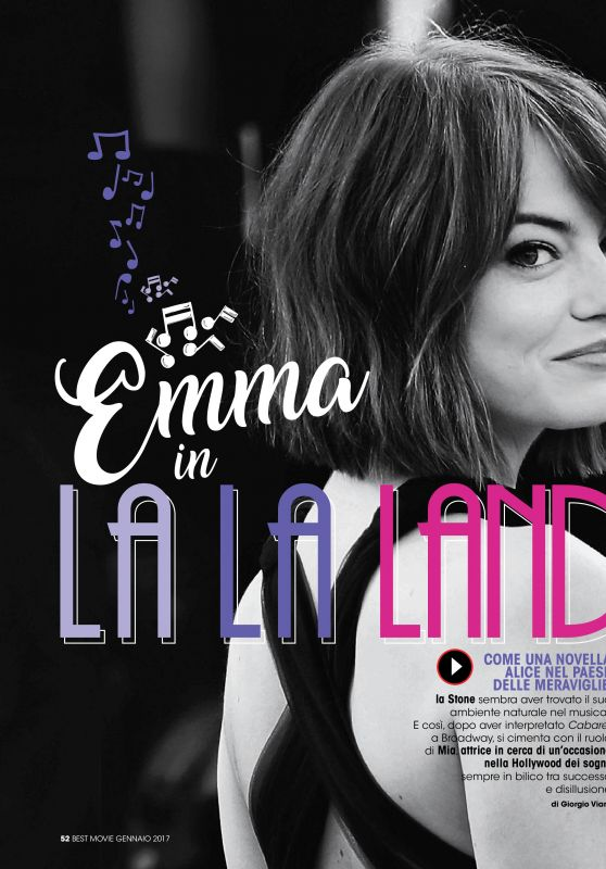 Emma Stone - Best Movie December 2016