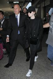 Emma Stone - LAX Airport in Los Angeles 12/19/ 2016