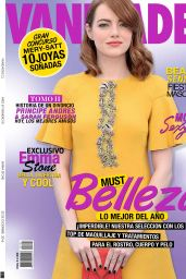 Emma Stone - Vanidades Magazine Chile -December 2016 Issue