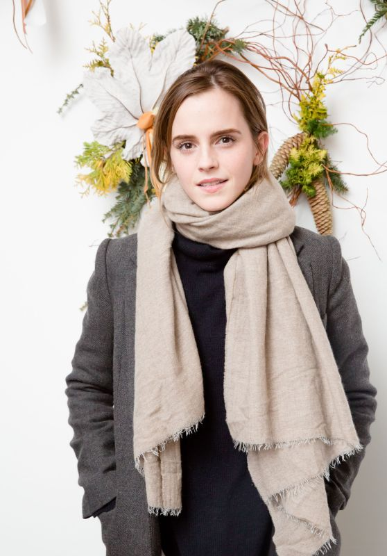 Emma Watson - Domino Magazine Holiday Pop Up in New York 12/01/ 2016