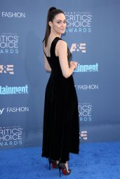 Emmy Rossum – 2016 Critics' Choice Awards in Santa Monica 12/11/ 2016