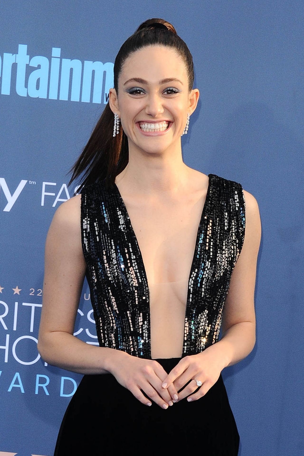 Emmy Rossum 2016 Critics Choice Awards In Santa Monica 12 11 2016