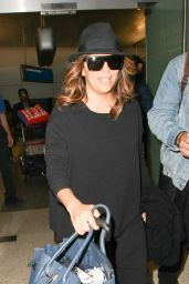 Eva Longoria - Arrives at LAX Airport in Los Angeles 12/16/ 2016