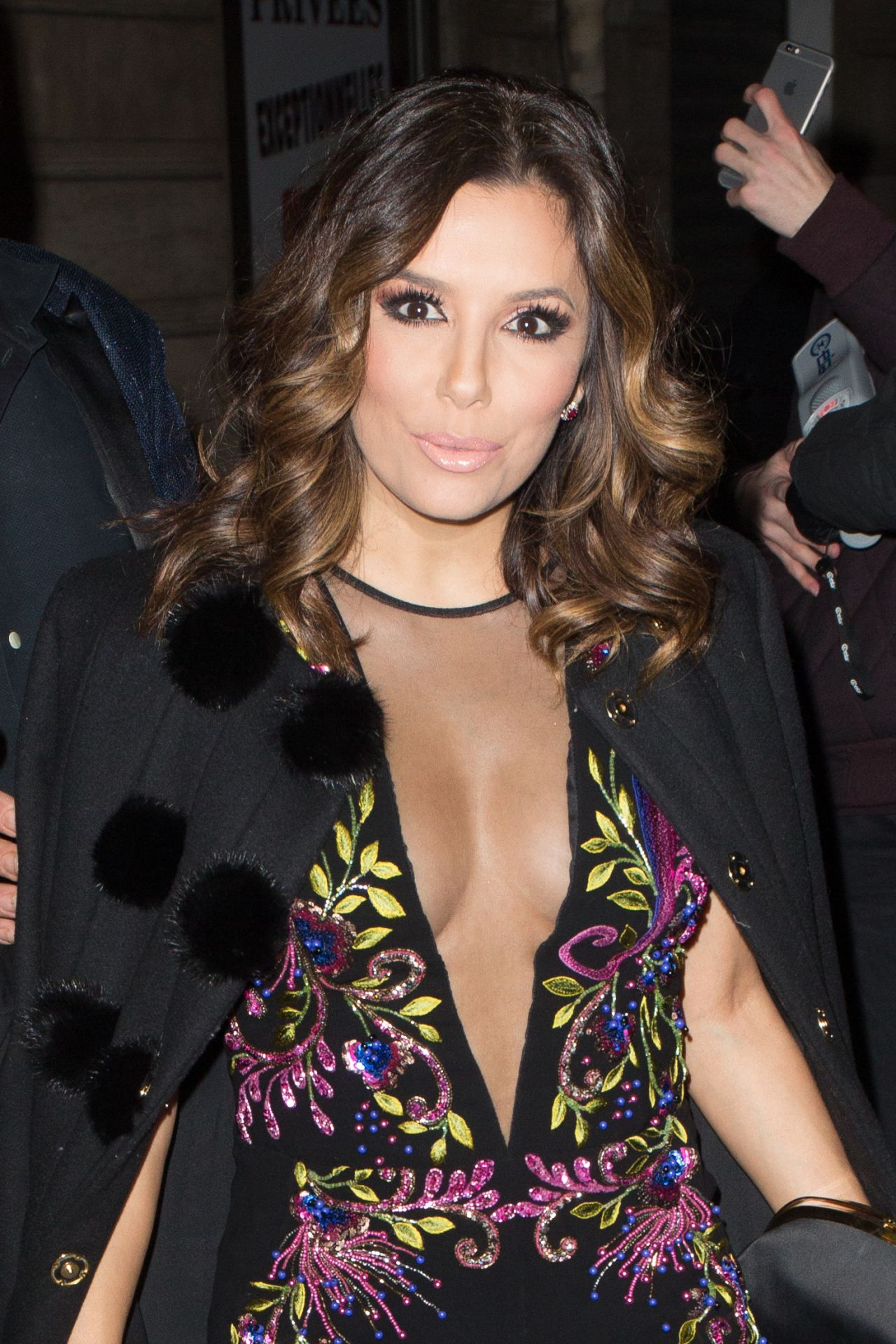Eva Longoria - Arriving at a L'Oreal Event in Paris 12/15 ... Eva Longoria