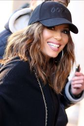 Eva Longoria in Paris 12/14/ 2016