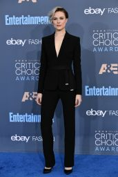 Evan Rachel Wood – 2016 Critics' Choice Awards in Santa Monica 12/11/ 2016