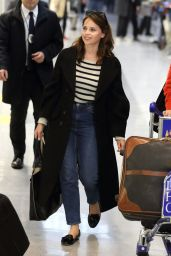 Felicity Jones - Narita International Airport in Chiba, Japan 12/6/ 2016