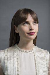 Felicity Jones - Rogue One: A Star Wars Story Portrait Session in San Francisco, December 2016