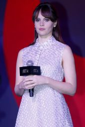 Felicity Jones - Rogue One: A Star Wars Story Press Conference in Beijing 12/21/ 2016