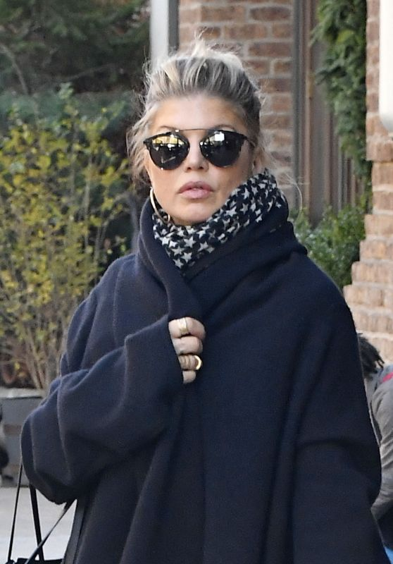 Fergie - Leaves Her Hotel in New York, December 2016