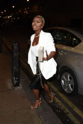 Gifty Louise - Arrives at the DSTRKT 5th Anniversary Party in London 12/20/ 2016