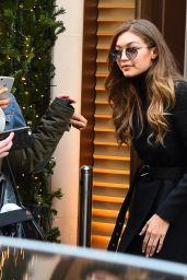 Gigi Hadid - Mandarin Hotel, Paris 12/1/ 2016