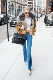 Gigi Hadid - Out in NYC 12/11/ 2016