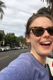 Gillian Jacobs -  Social Media Pics, December 2016