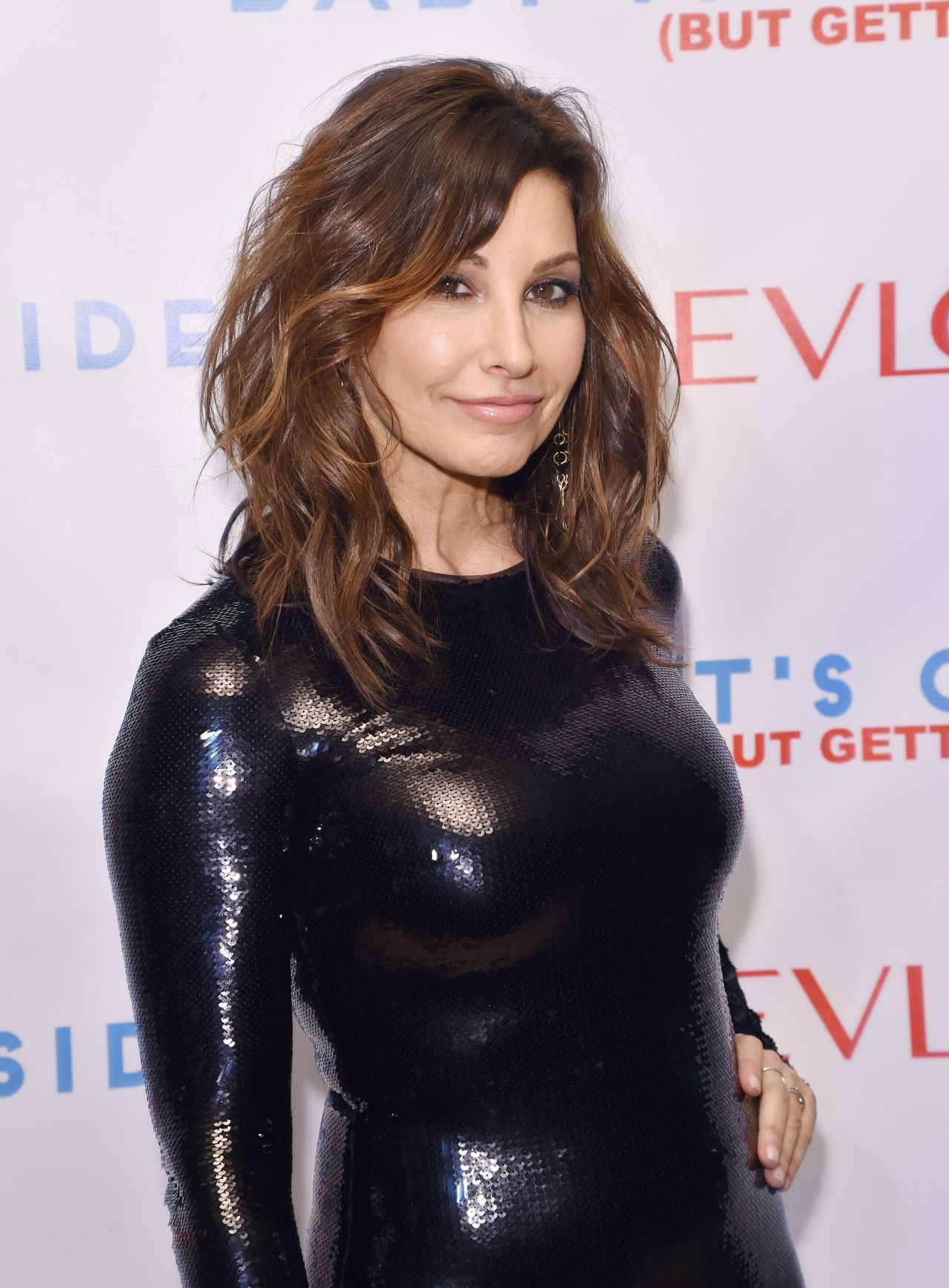 Gina Gershon Baby It S Cold Outside Holiday Concert In