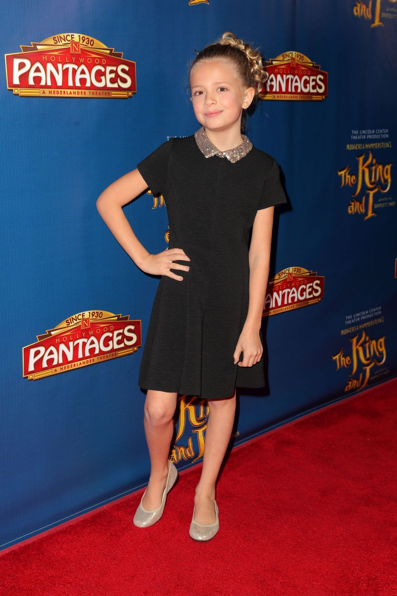 Giselle Eisenberg The King And I Opening Night In Hollywood 12 15 2016