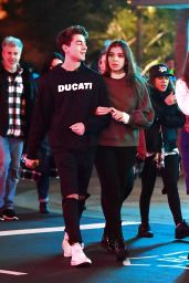 Hailee Steinfeld - Celebrating Her Birthday in Disneyland, LA 12/11/ 2016