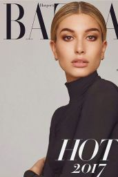 Hailey Baldwin - Harper's Bazaar Magazine Spain January 2017