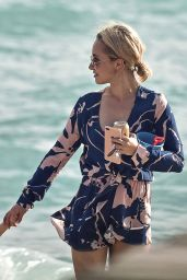 Hayden Panettiere at the Beach in Miami 12/1/ 2016