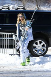 Heidi Klum and her ex-Seal Continue to enjoy their family holiday in Aspen, December 2016
