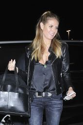 Heidi Klum Departs From LAX Airport in Los Angeles 12/9/ 2016