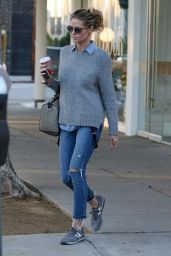 Heidi Klum Shopping in Los Angeles, December 2016