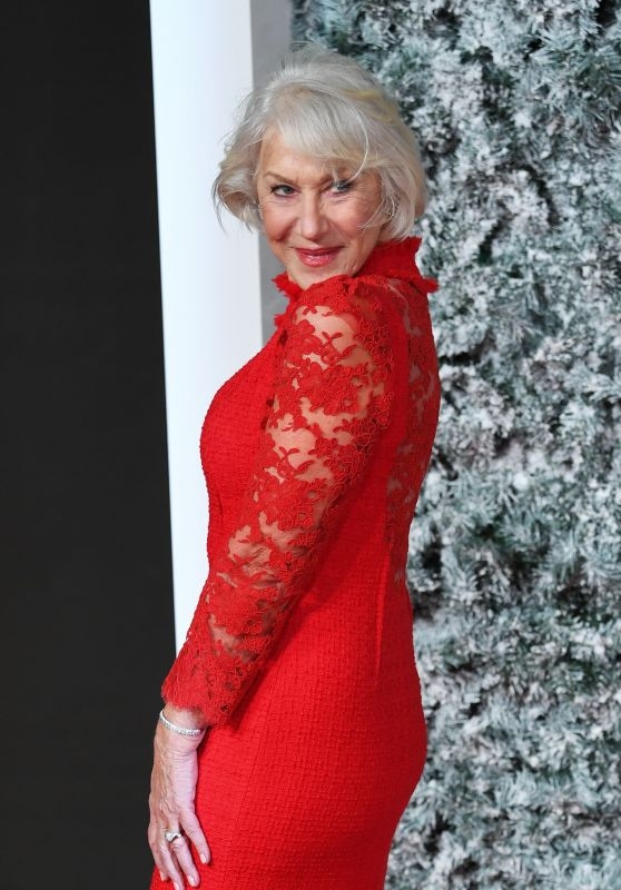 Helen Mirren – 'Collateral Beauty' Premiere in London 12/15/ 2016