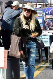 Hilary Duff  - Farmers Market in Studio City 12/18/ 2016