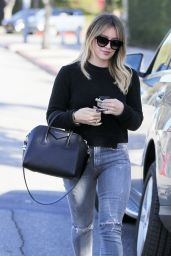 Hilary Duff in Jeans  - Shopping in Beverly Hills, CA 12/2/ 2016