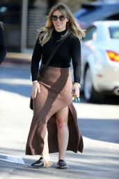Hilary Duff - Out & About in Bel-Air 11/30/ 2016