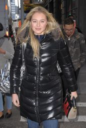 Iskra Lawrence - Out in New York 12/15/ 2016