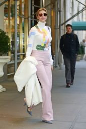 Ivanka Trump Style - Heading to Work in New York City 12/21/ 2016