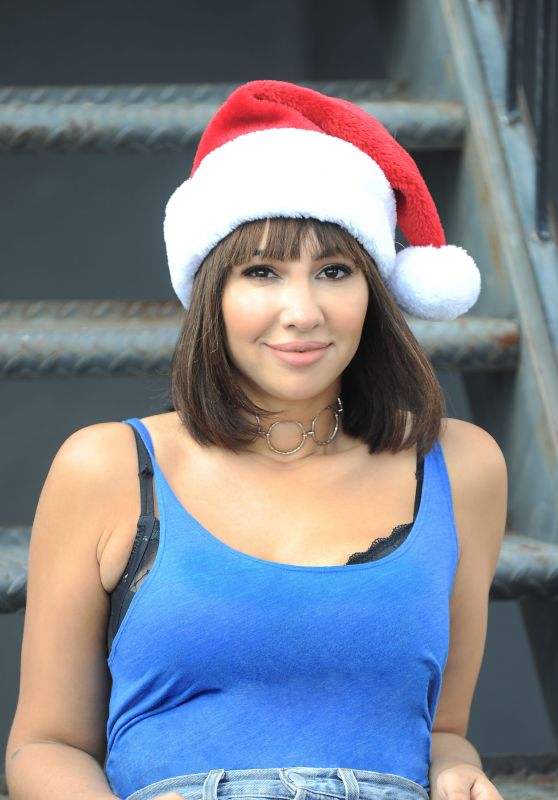Jackie Cruz in the Christmas Spirit, Malibu 12/12/ 2016