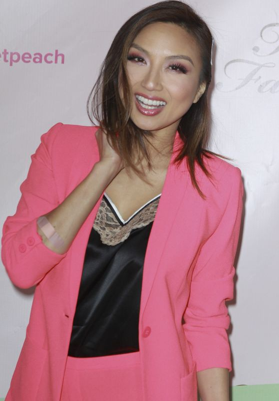 Jeannie Mai – Too Faced's Sweet Peach Launch Party in West Hollywood 12/01/ 2016